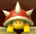 Spiny as viewed in the Character Museum from Mario Party: Star Rush