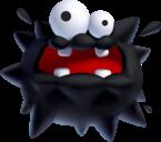 Fuzzy in New Super Mario Bros. U