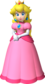 Artwork of Princess Peach from Fortune Street (also used in New Super Mario Bros. 2)