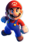 Solo art of Mario from Super Mario 3D World + Bowser's Fury