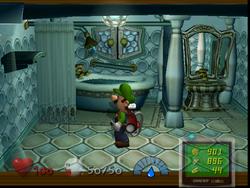 Bathroom (1F) from Luigi's Mansion