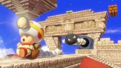 The Tostarena Ruins in Captain Toad: Treasure Tracker (Nintendo Switch)