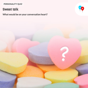 The icon for Candy Hearts Valentine's Day Personality Quiz