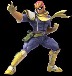 Captain Falcon from Super Smash Bros. Ultimate