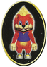 Front of Conker in Diddy Kong Racing.