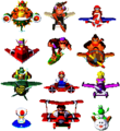 DKP Spaceworld 2001 - Unused Character Sprites.png
