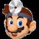 Dr. Mario's icon in Dr. Mario Online Rx