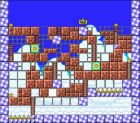Level 7-10 map in the game Mario & Wario.