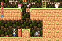 Screenshot from Super Mario Advance.