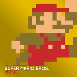 Cover for The 30th Anniversary Super Mario Bros. Music