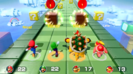 Strike It Rich minigame from Super Mario Party