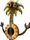 The banjo Tiki