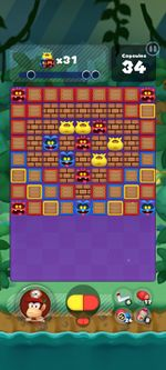 Stage 358 from Dr. Mario World since version 2.0.0