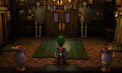 The Entrance in Luigi's Mansion: Dark Moon