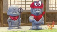 A Jizo in Super Mario Odyssey