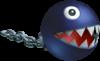 A Chain Chomp in Mario Kart: Double Dash!!.