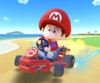 The icon of the Dry Bowser Cup challenge from the New Year's 2021 Tour in Mario Kart Tour.