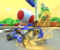 The Mario Cup Challenge from the New Year's Tour of Mario Kart Tour