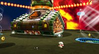 A screenshot of Cloud Mario fighting the Boomsday Machine.