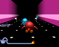 Clu Clu Land in WarioWare: Smooth Moves.