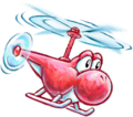 Helicopter from Yoshi's New Island.