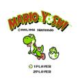 Yoshi NES Europe Title Screen.png