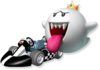 Artwork of King Boo from Mario Kart Wii
