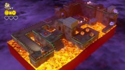 Spinwheel Bullet Bill Base from Captain Toad: Treasure Tracker