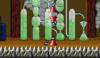Mario in the level Castle 1.