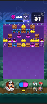 World 9's Special Stage from Dr. Mario World