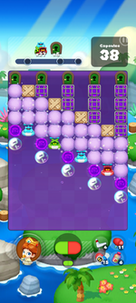 Stage 627 from Dr. Mario World