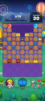 Stage 658 from Dr. Mario World