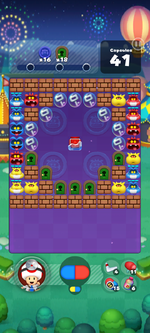 Stage 675 from Dr. Mario World