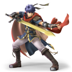 Ike from Super Smash Bros. Ultimate
