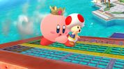 Kirby with Princess Peach's ability
