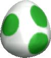 A Yoshi's Egg in Mario Kart: Double Dash!!.
