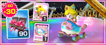 The Dreamy Egg Pack from the Wedding Tour in Mario Kart Tour