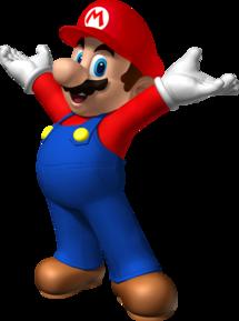 Mario's artwork from Mario Party 8