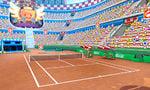 The Mario Stadium Clay Court in Mario Tennis Open