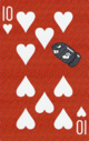 The Ten of Hearts card from the NAP-06 deck.