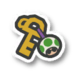 The Café Key icon from Paper Mario: Color Splash