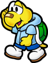 Artwork of Koops from Paper Mario: The Thousand-Year Door