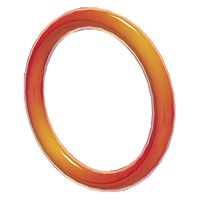 A Red Ring from Super Mario 3D World.