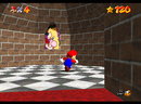 Mario in the room with The Princess's Secret Slide