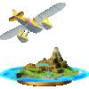 Wuhu Island trophy from Super Smash Bros. for Wii U