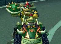 Bowser on Koopa King kart MKDD.png