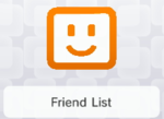 The Friends List preview on the home menu of the Nintendo 3DS