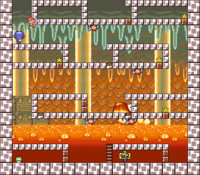 Level 5-9 map in the game Mario & Wario.