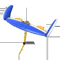 Penguin Wingtip from Mario Kart Tour
