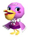 Phyllis sticker in the game Super Smash Bros. Brawl.